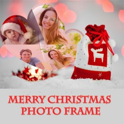 Merry Christmas HD Photo Frame And Pic Collage