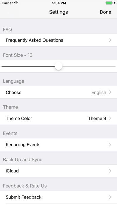 Weekly Planner To Do ListScreenshot of 5