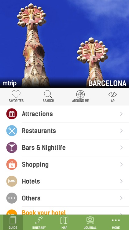 Barcelona Travel Guide (with Offline Maps) screenshot-0