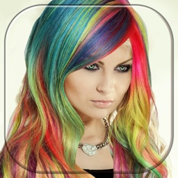 Hair Color Changer Booth Dye & Recolor Hairstyle