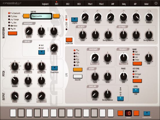Screenshot #5 pour CASSINI Synthesizer for iPad