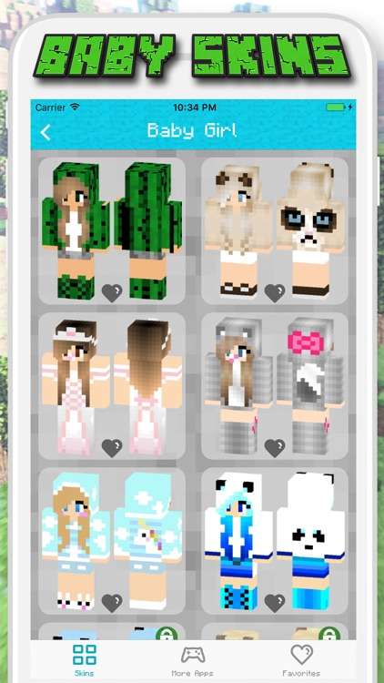 Baby Skins for Minecraft PE - Pocket Edition