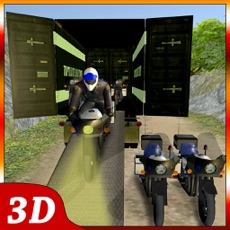Activities of OffRoad Police Bike Transport – Motorbike Driving