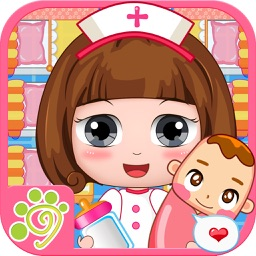 Nursery baby caring center - kids hospital game
