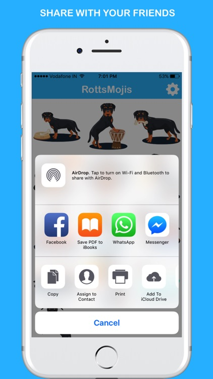 RottsMojis - Rottweiler Emojis & Stickers screenshot-3