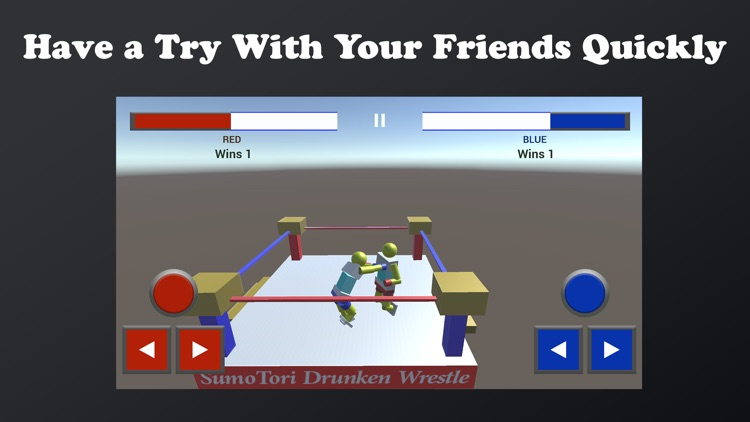Sumotori Drunken Wrestle Dreams Fun screenshot-4