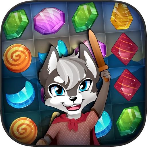 Treasure Tiles: Match 3 Gems Puzzle Game