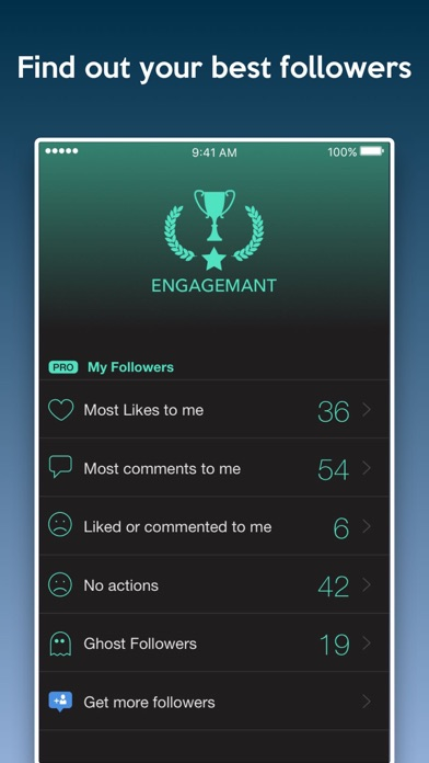 Followers Report for Instagram - Followers Insight app image