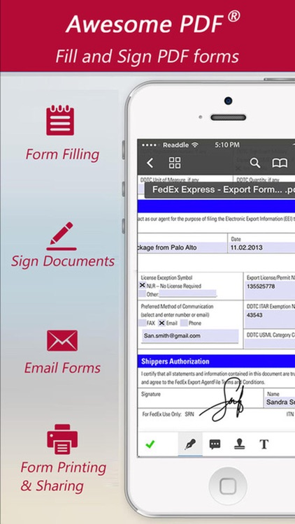 PDF Editor Pro : Create, Edit, Annotate & Sign PDF screenshot-1