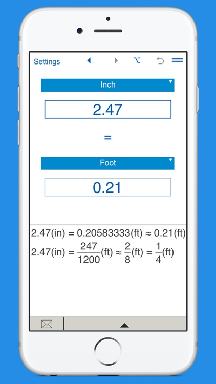 Inches, Feet, Yards and Miles Converter