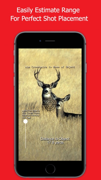 Range Finder for Hunting Deer & Bow Hunting Deer Screenshot