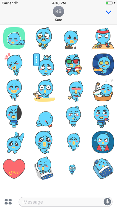 Lovely Doll - Animated Stickers And Emoticons screenshot two