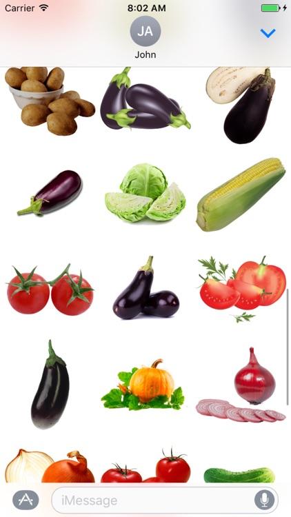Best Veggie Stickers