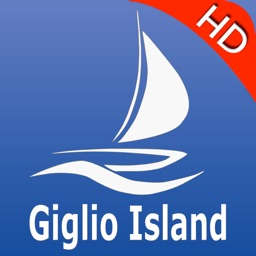 Giglio Is. Nautical Charts Pro