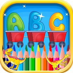 Abc Kindergarten & coloring book pictures