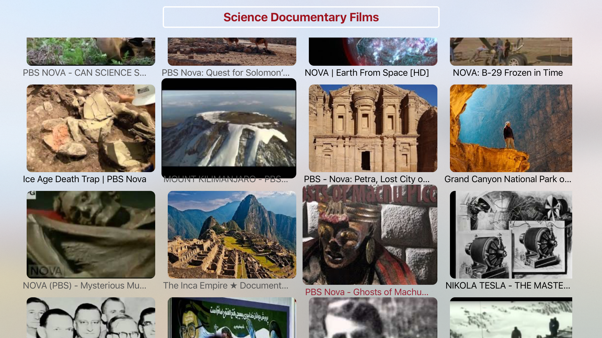 Science Documentary Films - HD Collection screenshot 4