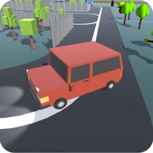 快速 循环 汽车 驾驶 崩溃 -  疯 出租车 驾驶