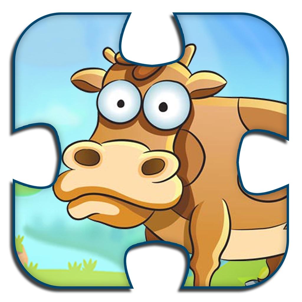 Animal Jigsaw Puzzles Kids Game hack