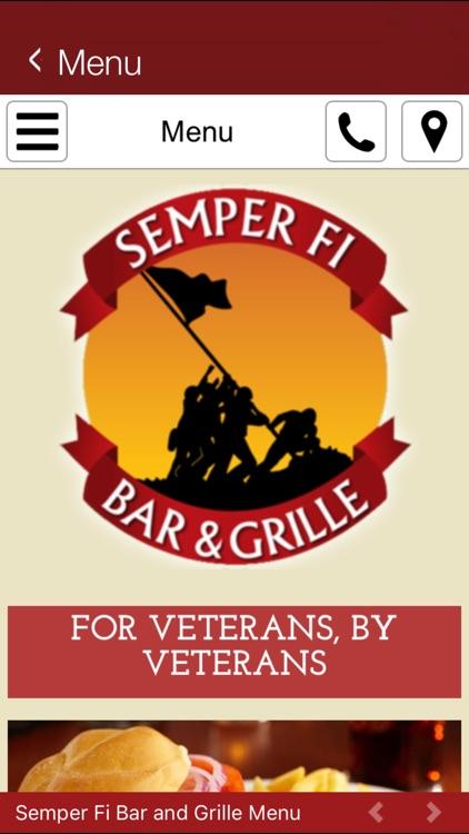 Semper Fi Bar & Grille screenshot-4