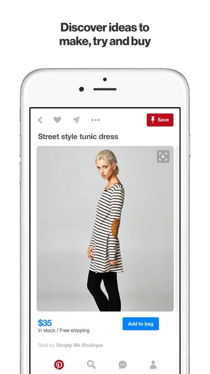 Pinterest app image