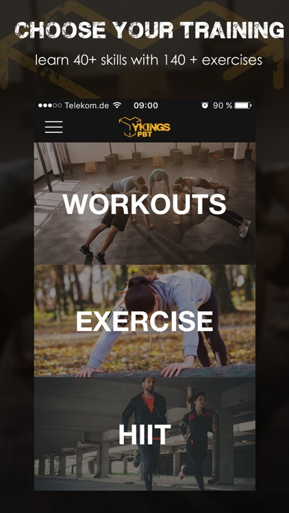 YKINGS - Calisthenics Workouts