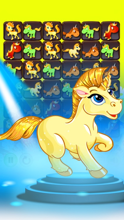 The Unicorn Horse Best Match 3 Games
