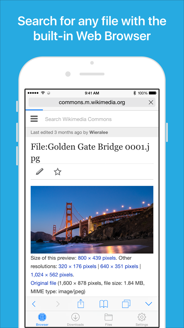 Files - File Manager & Browser Screenshot