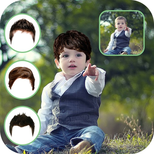 Man Hair Style Photo Booth - Hair Style Changer