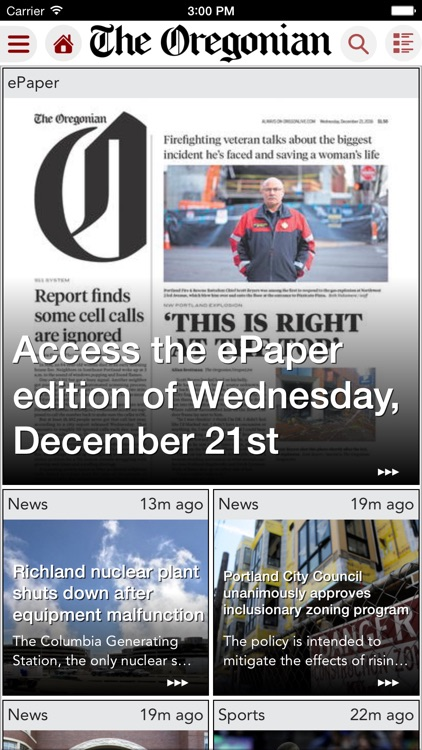 The Oregonian for iPad