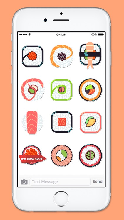 Time For Sushi Sticker Pack screenshot-3