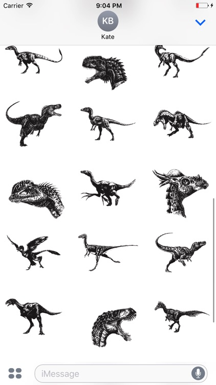 100 DinoPrints