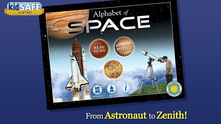 Alphabet of Space - Smithsonian Alphabet Books screenshot-0