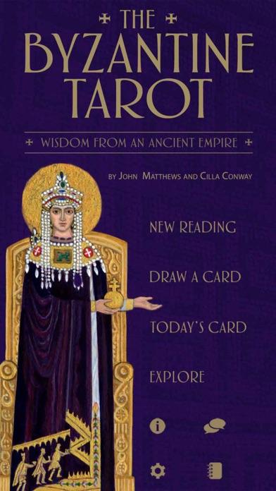 The Byzantine Tarot-0