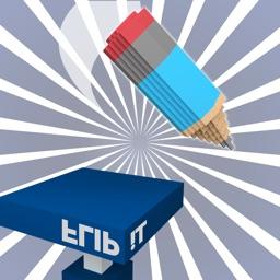 Marker Flip Challenge - Pen and Pencil Trick Shots