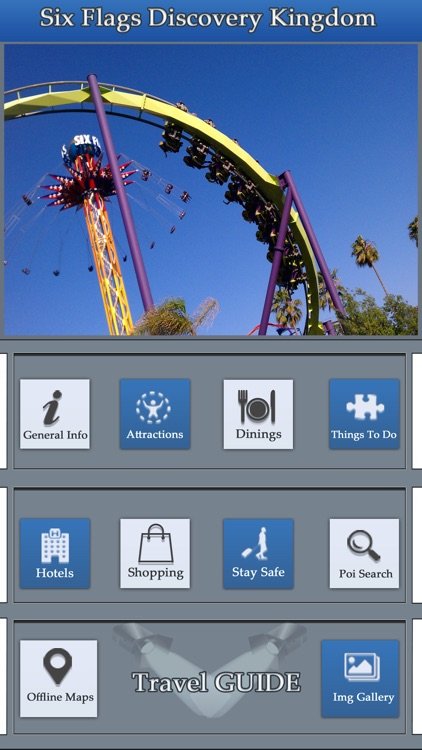 The Great App For Six Flags Discovery Kingdom