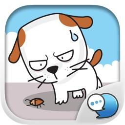 Cute Khao Niaw dogs Stickers Keyboard By ChatStick