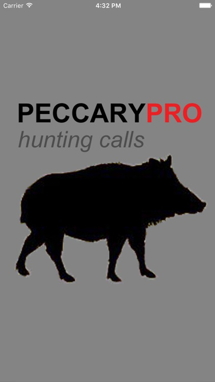 Peccary Calls and Peccary Sounds for Hunting screenshot-0
