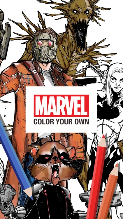 Marvel: Color Your Own screenshot-0