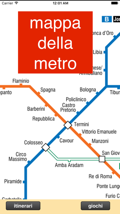 Screenshot of Metropolitana di Roma2