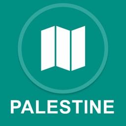 Palestine : Offline GPS Navigation