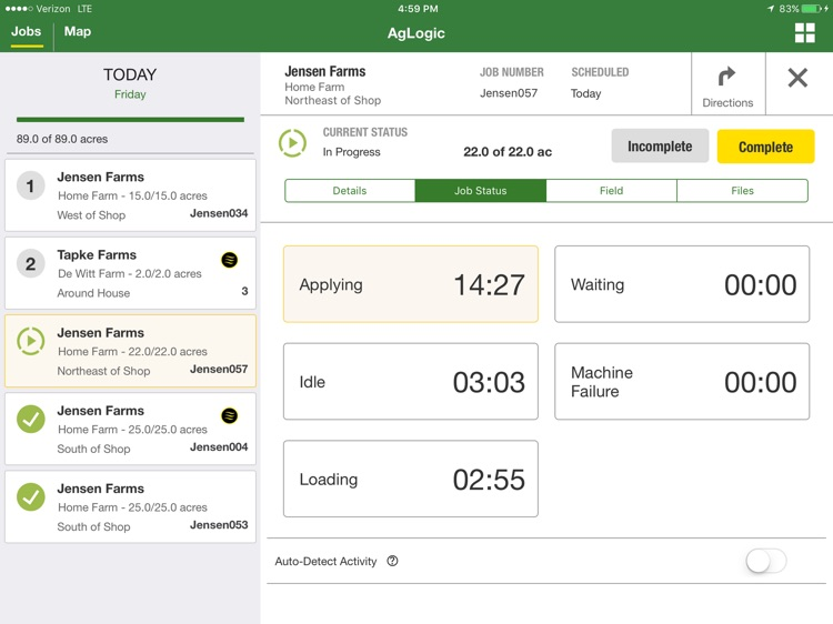 John Deere AgLogic™ screenshot-3