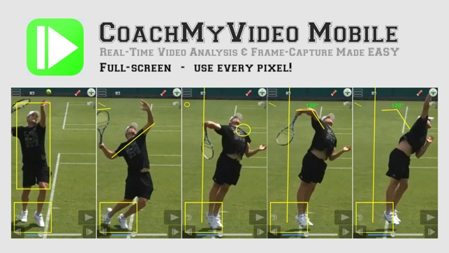 CMV: Slow Frame-Frame Video Analysis CoachMyVideo on the App Store