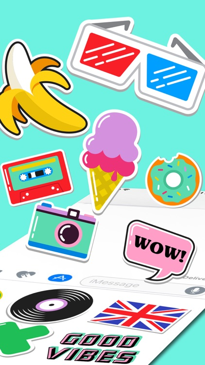 Everyday Emojis Stickers Pack