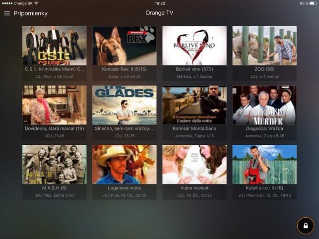 Orange TV on the App Store