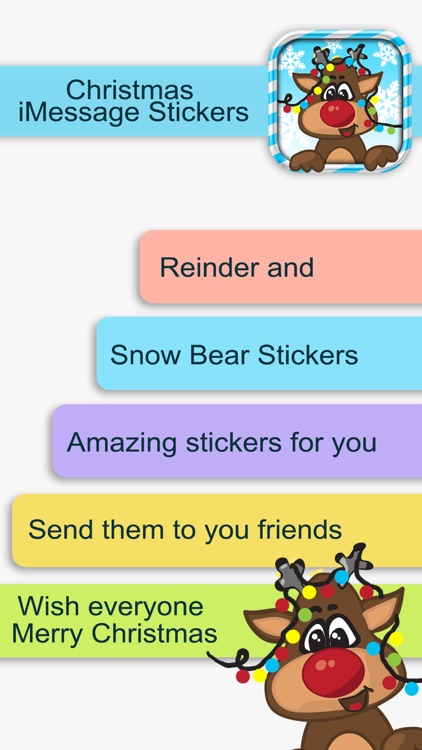 Christmas Stickers for iMessage - Fun Text.ing