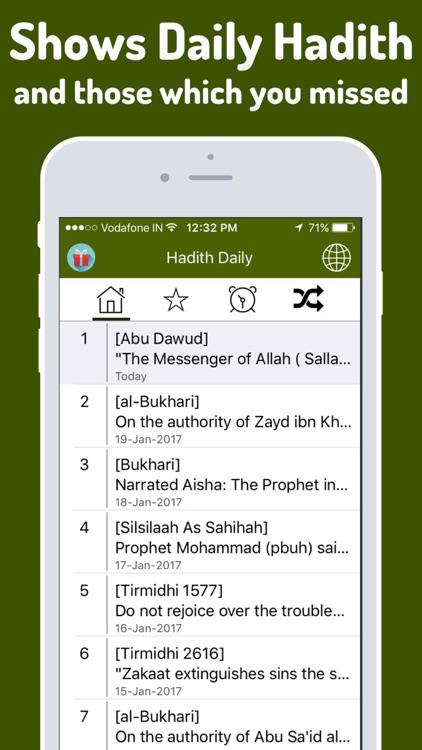 Hadith Daily Free (Islam)