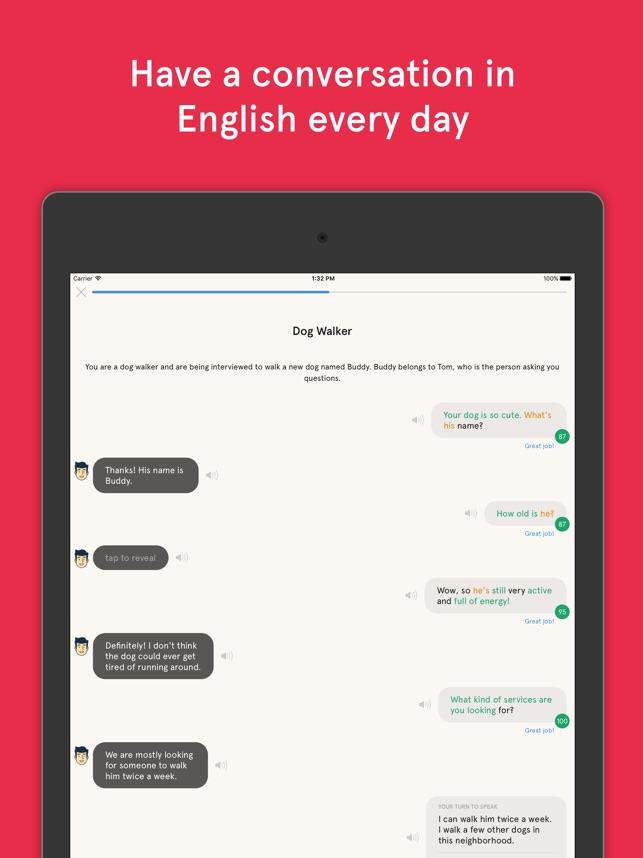 Speak - Practice Your English on the App Store