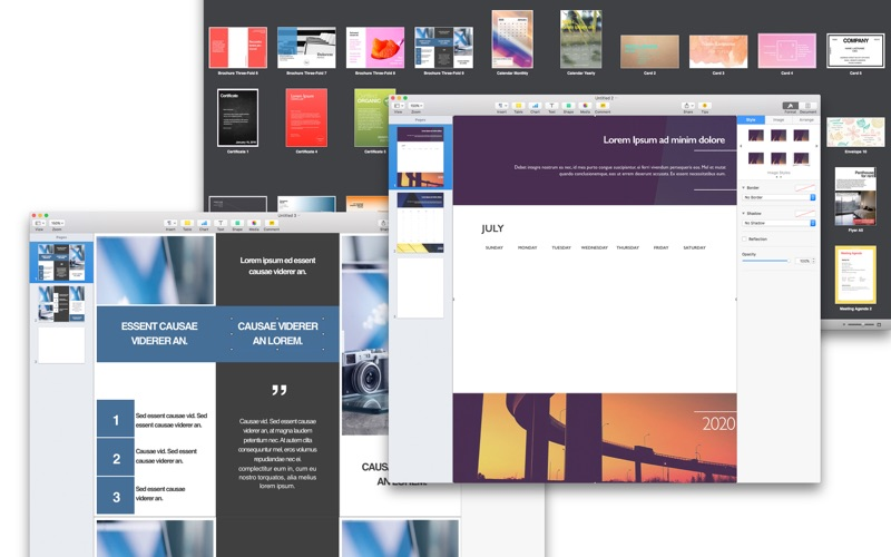 Expert Designs - Templates for Pages Screenshot