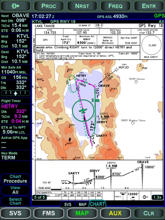 Avidyne IFD100 screenshot-1