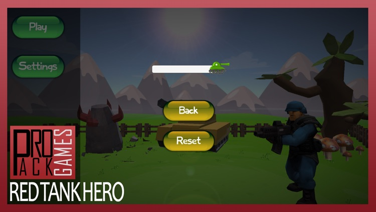 Red Tank hero lite : Trigger the pocket bomb army